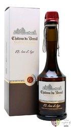 """Chateau du Breuil """" 12 ans d´Age """" gift box Calvados Pays d´Auge 41% vol.  0.35 l"""
