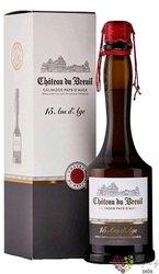 """Chateau du Breuil """" 15 ans d´Age """" gift box Calvados Pays d´Auge 41% vol.  0.70 l"""
