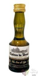 """Chateau du Breuil """" 15 ans d´Age """" Calvados Pays d´Auge 41% vol.  0.03 l"""