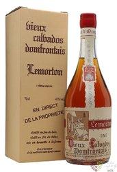 """Didier Lemorton 1987 """" Grande Reserve """" Calvados Domfrontais Aoc 40% vol.  0.70l"""