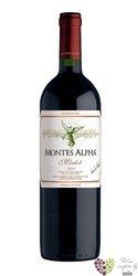 """Merlot """" Montes Alpha """" 2010 la Finca de Apalta Santa Cruz viňa Montes    0.75 l"""