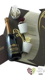 "Drappier blanc 2006 "" Grande Sendree "" brut Spicy coffret Champagne Aoc  0.75 l"