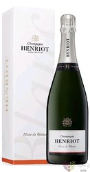 "Henriot blanc "" Pur Chardonnay "" brut Blanc de Blancs Champagne Aoc   0.75 l"