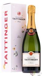 """Taittinger blanc """" Reserve """" brut gift box Champagne Aoc  0.75 l"""