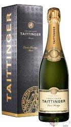 """Taittinger blanc """" cuvée Prestige """" brut gift box Champagne Aoc  0.75 l"""