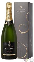 "J.M.Gremillet blanc "" Sélection "" brut gift box Champagne Aoc     0.75 l"