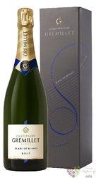 """J.M.Gremillet blanc """" Blanc de blancs """" brut Champagne Aoc     0.75 l"""