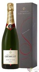 """J.M.Gremillet blanc """" Blanc de noirs """" brut Champagne Aoc     0.75 l"""