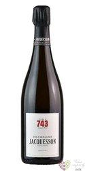 """Jacquesson blanc """" cuvée no.739 """" brut Champagne Aoc  0.75 l"""
