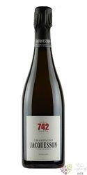"""Jacquesson blanc """" cuvée no.742 """" Extra brut Champagne Aoc  0.75 l"""