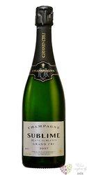 "le Mesnil blanc 2007 "" Sublime "" brut Grand cru Champagne   0.75 l"