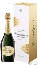 "Perrier Jouet blanc "" Grand "" brut gift box Epernay Champagne Aoc  0.75 l"