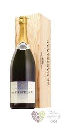 """de Castelnau blanc """" Reserve """" Brut Champagne Aoc     1.50 l"""