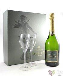"Deutz blanc "" Classic "" 2glass pack brut Champagne Aoc   0.75 l"