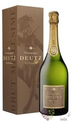 "Deutz blanc 2014 "" Millesimé "" brut gift box Champagne Aoc   0.75 l"