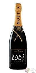 "Moët & Chandon blanc 2008 "" Grand vintage "" brut Champagne Aoc  0.75 l"