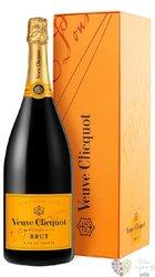 Veuve Clicquot Ponsardin blanc brut gift box Champagne Aoc magnum  1.50 l