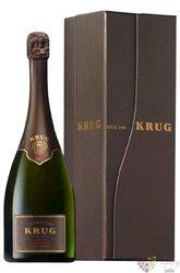 "Krug blanc 1996 "" Vintage Fresh expression of an exeptional year "" Champagne Aoc  0.75 l"