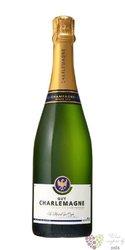 Guy Charlemagne blanc demi sec Champagne Aoc    0.75 l