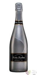 """Nicolas Feuillatte blanc """" Graphic Ice Silver """" demi sec Champagne Aoc  0.75  l"""