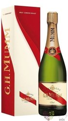 "G.H.Mumm blanc "" Cordon Rouge "" gift box brut Champagne Aoc  0.75 l"