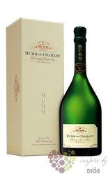 "G.H.Mumm blanc "" Mumm de Cramant "" brut Blanc de Blancs Champagne Aoc  0.75 l"