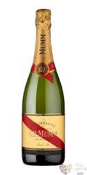 "G.H.Mumm blanc "" Cordon rouge "" demi sec Champagne Aoc  0.75 l"