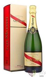 "G.H.Mumm blanc "" Cordon rouge "" gift box demi sec Champagne Aoc  0.75 l"