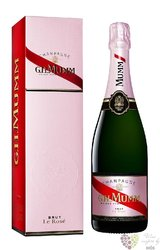 "G.H.Mumm rosé "" le Rosé "" gift box brut Champagne Aoc  0.75 l"