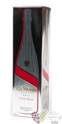 """G.H.Mumm blanc """" Cordon Rouge Porsche collection """" brut Champagne Aoc  0.75 l"""