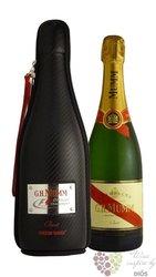 "G.H.Mumm blanc "" Cordon Rouge F1 jacket "" brut Champagne Aoc     0.75 l"