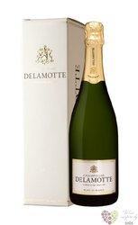 Delamotte blanc Brut gift box Blanc de blancs Champagne Aoc    0.75 l