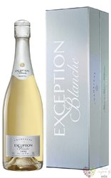 "Mailly blanc 2002 "" Exception blanche "" brut Grand cru Champagne  0.75 l"