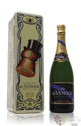 """de Venoge blanc """" Cordon Bleu """" Brut metal box Champagne Aoc    0.75 l"""