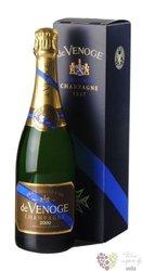"de Venoge blanc "" Millesime "" 2002 gift box brut Champagne Aoc  0.75 l"