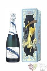 """de Venoge blanc """" Blanc de Blanc """" 2004 Brut metal box Champagne Aoc    0.75 l"""