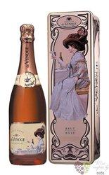 de Venoge rosé gift box brut Champagne Aoc  0.75 l