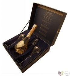 """de Venoge blanc """" Louis XV."""" 1995 brut glass set Champagne Aoc  0.75 l"""
