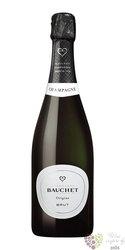 """Bauchet blanc """" Origine """" Champagne Aoc   0.75 l"""