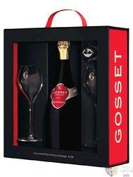 "Gosset blanc "" Celebris "" 2003 brut extra Champagne Aoc  0.75 l"