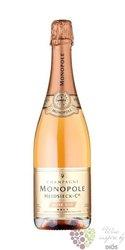"""Heidsieck & Co Monopole rosé """" Rosé top """" Champagne Aoc    0.75 l"""