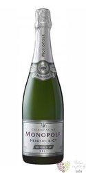 """Heidsieck & Co Monopole blanc """" Silver top """" Champagne Aoc  0.75 l"""