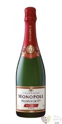 "Heidsieck & Co Monopole blanc "" Red top "" sec Champagne Aoc  0.75 l"