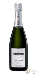 """Pierre Legras blanc """" Monographie """" brut nature Blanc de Blancs Grand cru Champagne  0.75 l"""