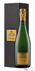 """Lallier blanc """" Ouvrage """" brut extra Grand cru Champagne  0.75 l"""