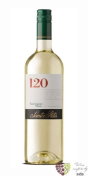 "Sauvignon blanc "" 120 Range "" 2015 Chile Central valley Do viňa Santa Rita    0.75 l"