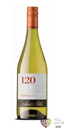 "Chardonnay "" 120 range "" 2010 Casablanca valley Do viňa Santa Rita  0.75 l"