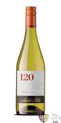 """Viognier """" 120 Range """" 2011 Central valley Do viňa Santa Rita     0.75 l"""