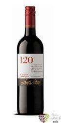 "Cabernet Sauvignon "" 120 Range "" 2012 Rapel valley Do viňa Santa Rita     0.75 l"