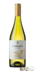 "Chardonnay "" Reserva "" 2008 Maipo valley Do viňa Carmen  0.75 l"